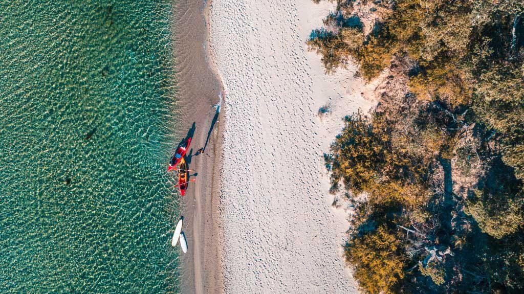 Lake Congola-Kayaking NSW South Coast Holiday Property Management company