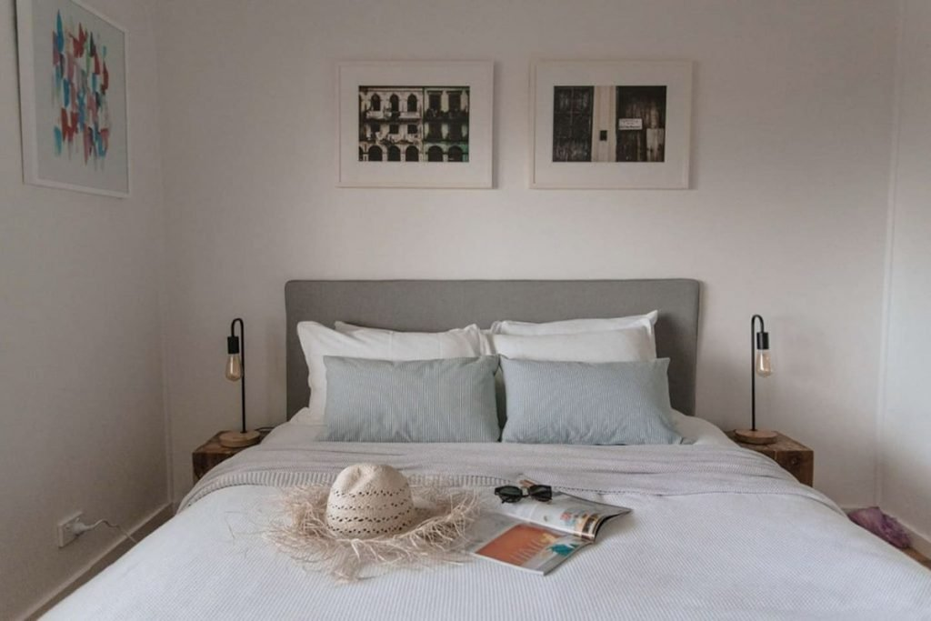 How we styled Minerva Holiday Rental Accomodation Property Styling by Super Calla property management NSW South Coast kids room